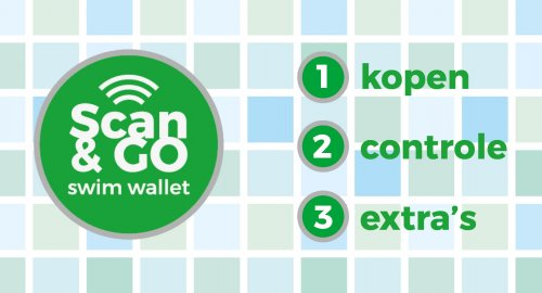 Scan & Go swim wallet