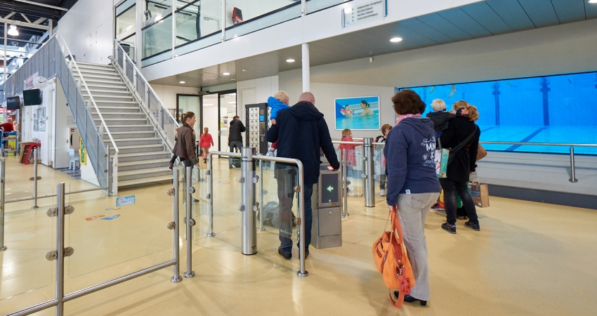 Centrale hal Leeghwaterbad, Purmerend, VConsyst